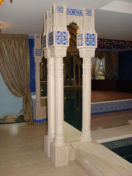 Декоративные колонны мавританский