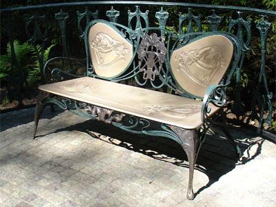 Садово парковая мебель стиль модерн